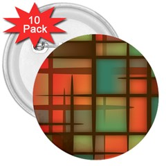 Background Abstract Colorful 3  Buttons (10 Pack)