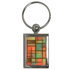 Background Abstract Colorful Key Chains (rectangle)