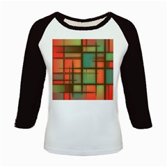 Background Abstract Colorful Kids Baseball Jerseys
