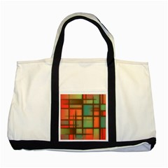 Background Abstract Colorful Two Tone Tote Bag