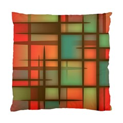 Background Abstract Colorful Standard Cushion Case (one Side)
