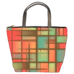 Background Abstract Colorful Bucket Bags