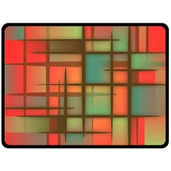 Background Abstract Colorful Fleece Blanket (large)
