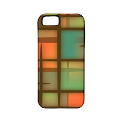 Background Abstract Colorful Apple Iphone 5 Classic Hardshell Case (pc+silicone)