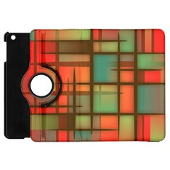Background Abstract Colorful Apple Ipad Mini Flip 360 Case