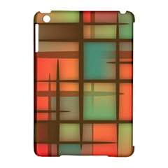 Background Abstract Colorful Apple Ipad Mini Hardshell Case (compatible With Smart Cover)