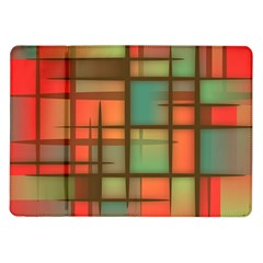 Background Abstract Colorful Samsung Galaxy Tab 10 1  P7500 Flip Case