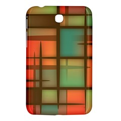 Background Abstract Colorful Samsung Galaxy Tab 3 (7 ) P3200 Hardshell Case