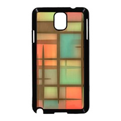 Background Abstract Colorful Samsung Galaxy Note 3 Neo Hardshell Case (black)