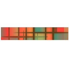 Background Abstract Colorful Large Flano Scarf