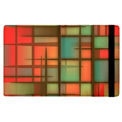 Background Abstract Colorful Apple Ipad Pro 12 9   Flip Case