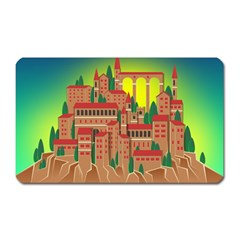 Mountain Village Mountain Village Magnet (rectangular)