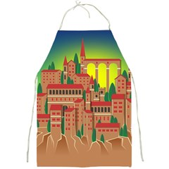 Mountain Village Mountain Village Full Print Aprons