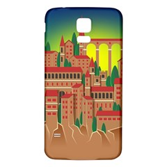 Mountain Village Mountain Village Samsung Galaxy S5 Back Case (white)