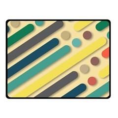 Background Vintage Desktop Color Fleece Blanket (small)