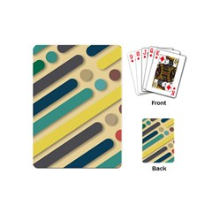 Background Vintage Desktop Color Playing Cards (mini)