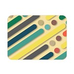 Background Vintage Desktop Color Double Sided Flano Blanket (Mini)  35 x27 Blanket Back