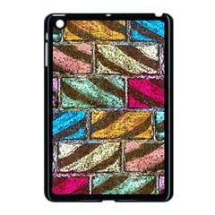 Colorful Painted Bricks Street Art Kits Art Apple Ipad Mini Case (black)