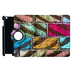 Colorful Painted Bricks Street Art Kits Art Apple Ipad 2 Flip 360 Case