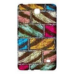 Colorful Painted Bricks Street Art Kits Art Samsung Galaxy Tab 4 (8 ) Hardshell Case