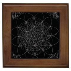 Sacred Geometry Music 144links Framed Tiles