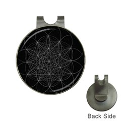 Sacred Geometry Music 144links Hat Clips With Golf Markers