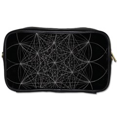 Sacred Geometry Music 144links Toiletries Bags