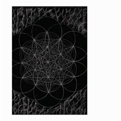 Sacred Geometry Music 144links Small Garden Flag (two Sides)