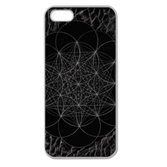 Sacred Geometry Music 144links Apple Seamless Iphone 5 Case (clear)