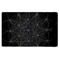 Sacred Geometry Music 144links Apple Ipad 2 Flip Case