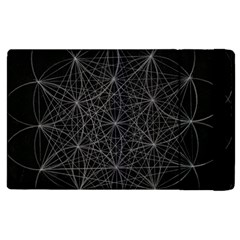 Sacred Geometry Music 144links Apple Ipad 3/4 Flip Case