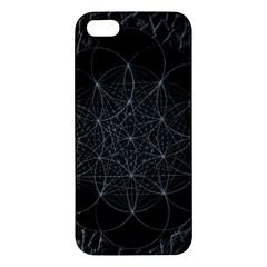 Sacred Geometry Music 144links Apple Iphone 5 Premium Hardshell Case