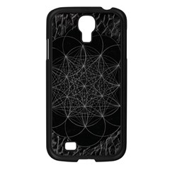 Sacred Geometry Music 144links Samsung Galaxy S4 I9500/ I9505 Case (black)
