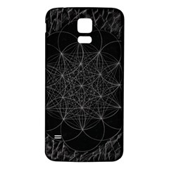 Sacred Geometry Music 144links Samsung Galaxy S5 Back Case (white)
