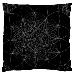 Sacred Geometry Music 144links Standard Flano Cushion Case (two Sides)