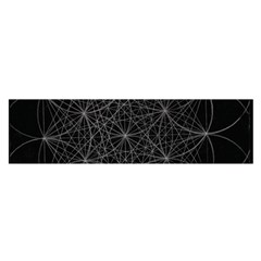 Sacred Geometry Music 144links Satin Scarf (oblong)