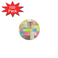 Background Abstract Grid 1  Mini Magnets (100 Pack)