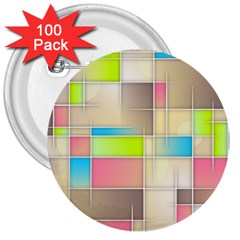 Background Abstract Grid 3  Buttons (100 Pack)