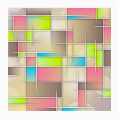 Background Abstract Grid Medium Glasses Cloth