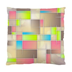 Background Abstract Grid Standard Cushion Case (one Side)