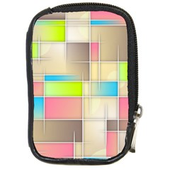 Background Abstract Grid Compact Camera Cases