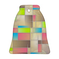 Background Abstract Grid Ornament (bell)