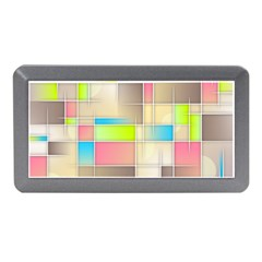 Background Abstract Grid Memory Card Reader (mini)