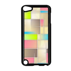 Background Abstract Grid Apple Ipod Touch 5 Case (black)