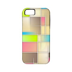 Background Abstract Grid Apple Iphone 5 Classic Hardshell Case (pc+silicone)