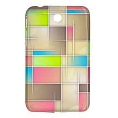 Background Abstract Grid Samsung Galaxy Tab 3 (7 ) P3200 Hardshell Case