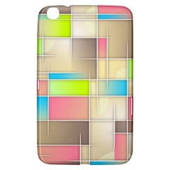Background Abstract Grid Samsung Galaxy Tab 3 (8 ) T3100 Hardshell Case
