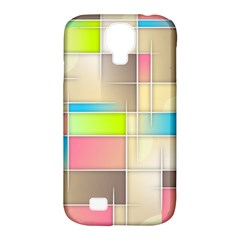 Background Abstract Grid Samsung Galaxy S4 Classic Hardshell Case (pc+silicone)
