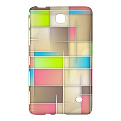 Background Abstract Grid Samsung Galaxy Tab 4 (7 ) Hardshell Case