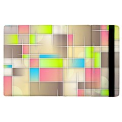 Background Abstract Grid Apple Ipad Pro 12 9   Flip Case